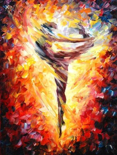 2021 Beautiful Modern Art Ballet Dancer Paint By Numbers Kits Uk VM95392