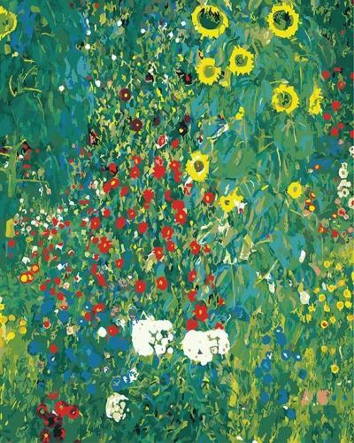 2021 Hot Sale Beautiful Landscape Flower Paint By Numbers Kits Uk BN91584