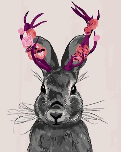 2021 Rabbit Diy Paint By Numbers Kits Uk WM915