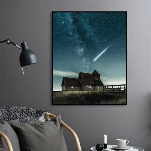 2021 Beautiful Night Sky Diy Paint By Numbers Kits New Hot Sale UK VM94911
