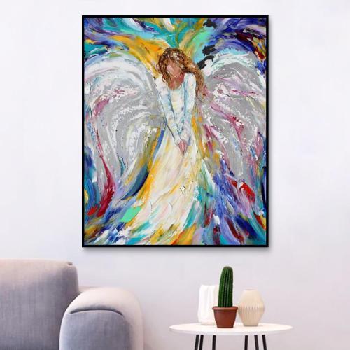 2021 Popular Hot Sale Angel Diy Paint By Numbers Kits UK VM97446