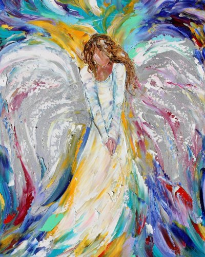 2021 Popular Hot Sale Angel Diy Paint By Numbers Kits UK VM97446