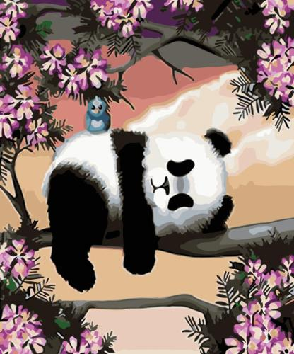 2021 New Arrival Hot Sale Panda Paint By Numbers Kits WM316