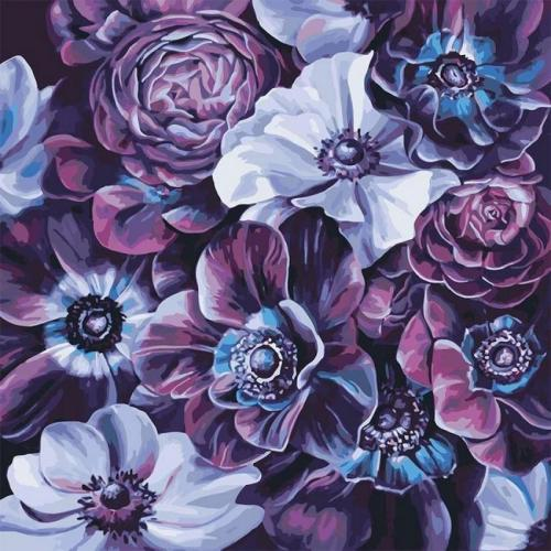 2021 New Arrival Hot Sale Flower Diy Paint By Numbers Kits UK VM97011