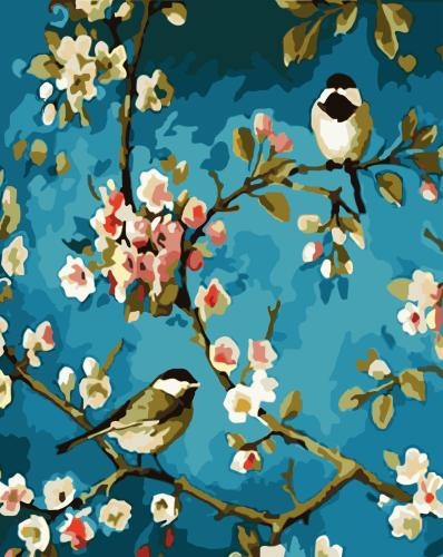 2021 Best  Sale Cute Bird Animal Diy Painting By Numbers Art Kits Uk WM351