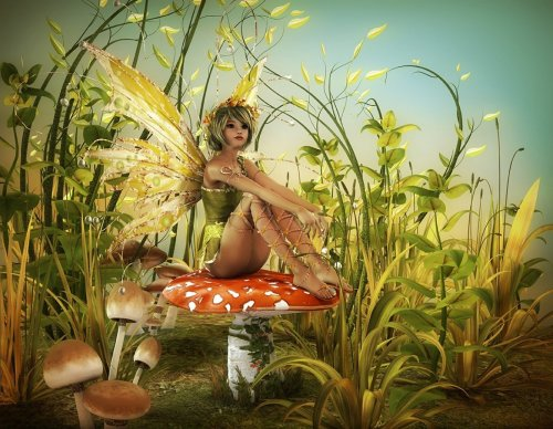 2021 Best Fantasy Style Fairy Diy Paint By Numbers Kits Uk VM95223