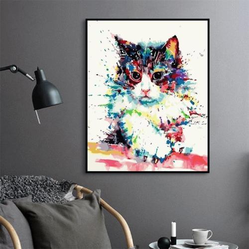 2021 Cat Diy Paint By Numbers Kits Online 2020 Hot Sale Uk WM1495