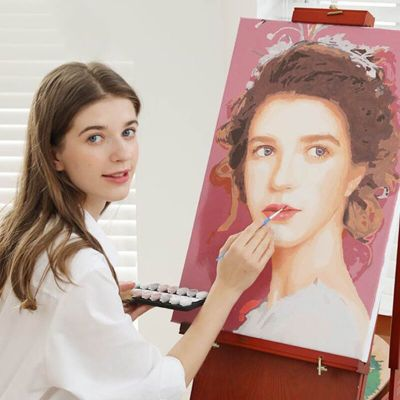 Personalised Photo Custom Diy Paint By Numbers Kits Uk PBN90268