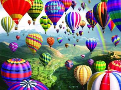 Diy Paint By Numbers Kits Balloon Uk PH9553