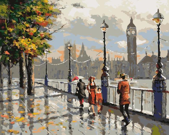 Landscape Diy Paint By Numbers OTG6184