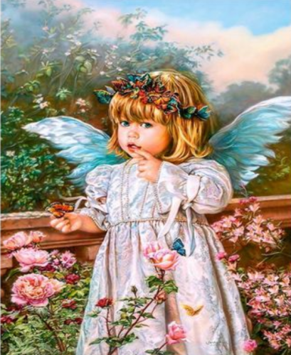 Angel Diy Paint By Numbers Kits Q2183