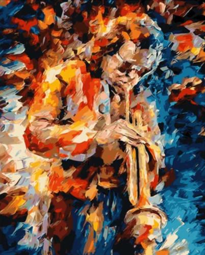 Portrait Diy Paint By Numbers Kits Q1455