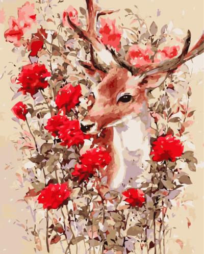 Deer Diy Paint By Numbers Kits YM251