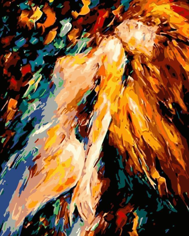 Portrait Nude Diy Paint By Numbers Kits WM835