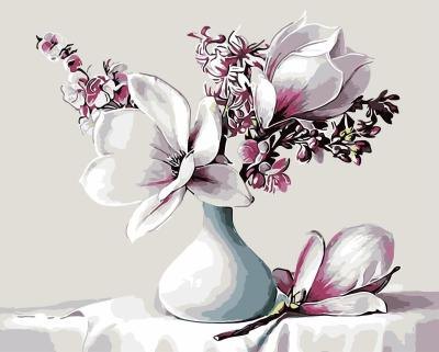 Orchid Diy Paint By Numbers Kits WM416