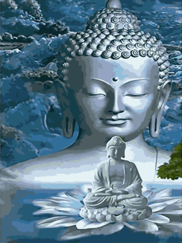 Buddha Diy Paint By Numbers Kits WM1602