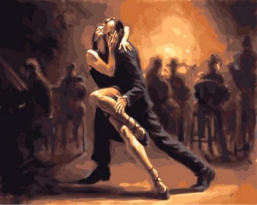 Dancer Diy Paint By Numbers Kits VM94856