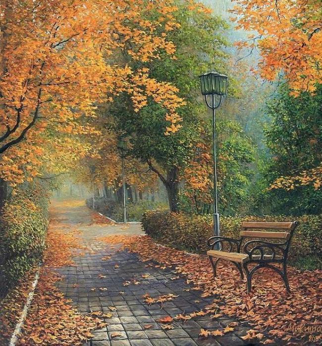 Landscape Diy Paint By Numbers Kits VM94516