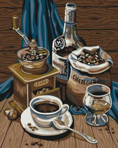 Coffee Paint By Numbers Kits WM1433