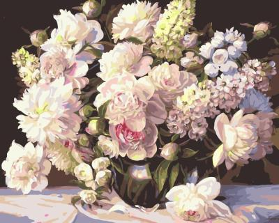 Peony Diy Paint By Numbers Kits SY001