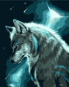 Wolf Diy Paint By Numbers Kits WM1485