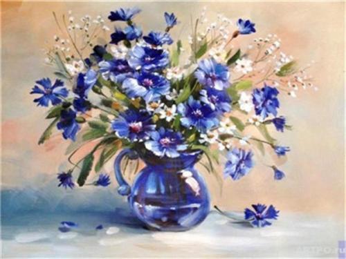 Flower Diy Paint By Numbers Y5121