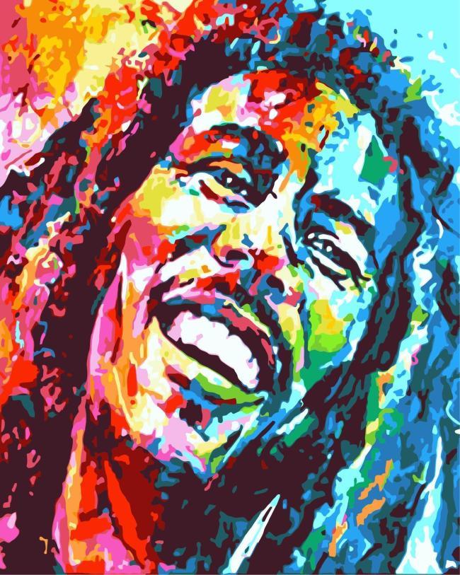 Portrait Diy Paint By Numbers Kits WM487