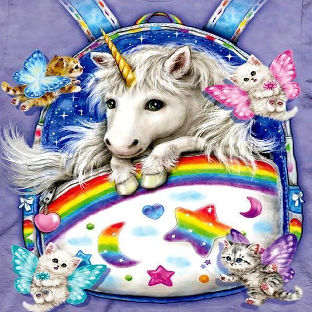 Unicorn Diy Paint By Numbers Kits VM90038