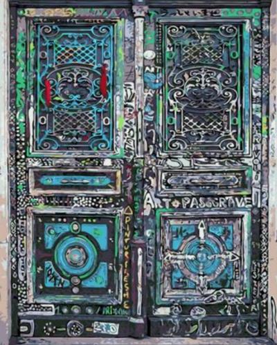 Door Diy Paint By Numbers Kits XQ462