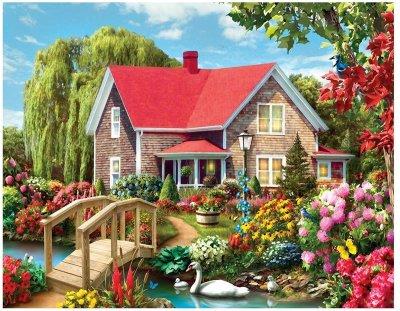 Landscape Cottage Diy Paint By Numbers Kits VM90787