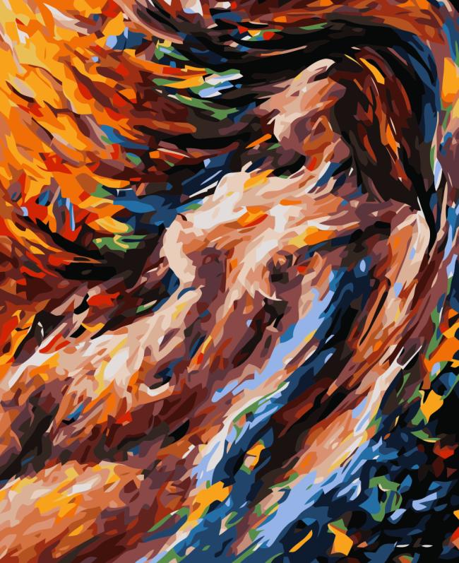 Portrait Nude Diy Paint By Numbers Kits WM017