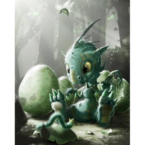 Dragon Diy Paint By Numbers Kits VM90172