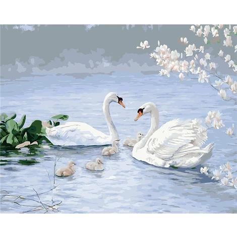 Swan Diy Paint By Numbers Kits VM30042