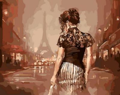 Portrait Woman Diy Paint By Numbers Kits XQ1557