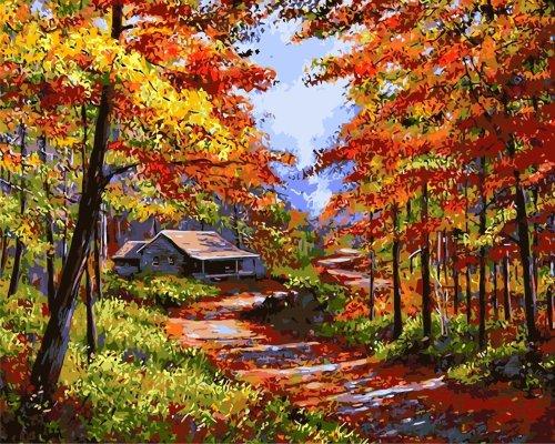 Landscape Nature Diy Paint By Numbers Kits VM92354