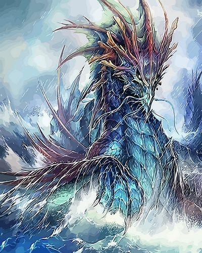 Dragon Diy Paint By Numbers Kits XQ3937