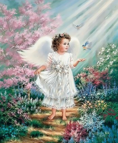 Angel Diy Paint By Numbers Kits  XQ3431