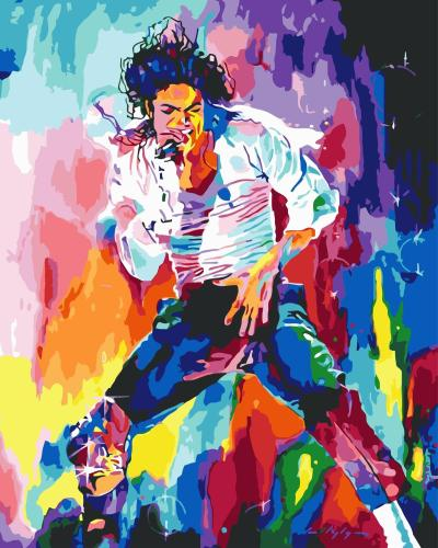 Michael Jackson Diy Paint By Numbers Kits WM100