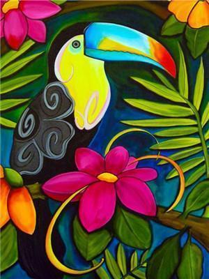 Bird Diy Paint By Numbers Y5794