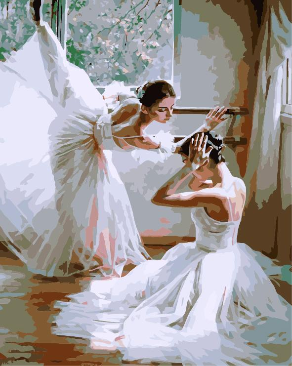Dancer Diy Paint By Numbers Kits E515