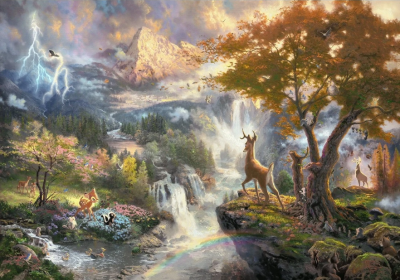 Magic Garden Princess Diy Paint By Numbers Kits BN94629