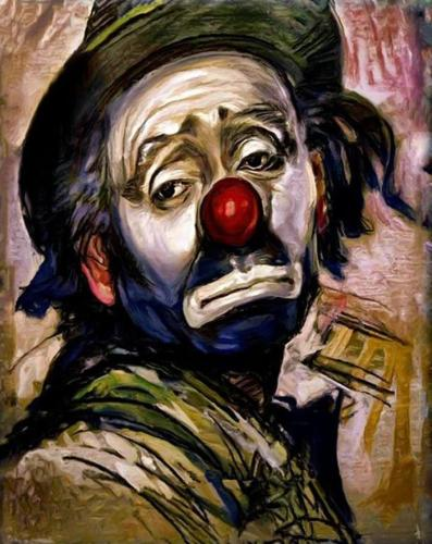 Clown Diy Paint By Numbers Kits FA90080