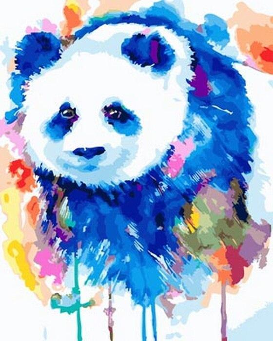 Panda Diy Paint By Numbers Kits BN30063