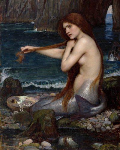 Mermaid Diy Paint By Numbers Kits BN93076