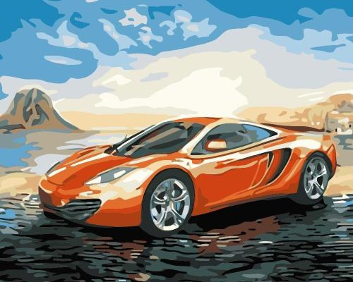 Sports Car Diy Paint By Numbers Kits BN95922