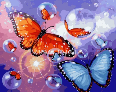 Butterfly Diy Paint By Numbers Kits BN95233
