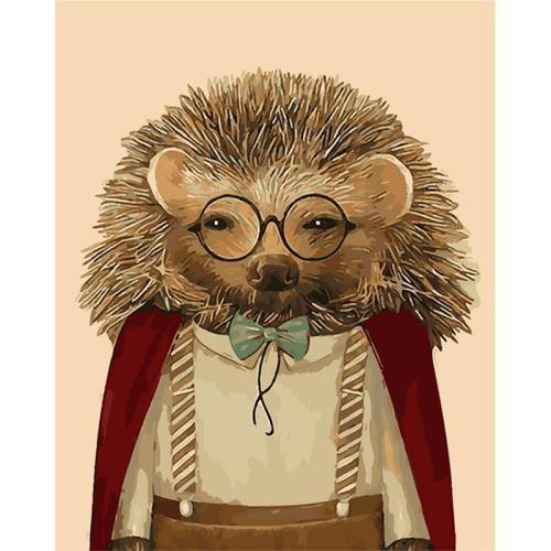 Hedgehog Diy Paint By Numbers Kits BN30135