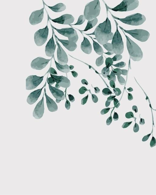 Leaf Diy Paint By Numbers Kits BN95346