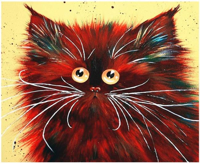 Cat Diy Paint By Numbers Kits BN95819