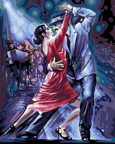 Dancer Diy Paint By Numbers Kits B369